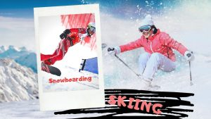 Skiing Snowboarding difference